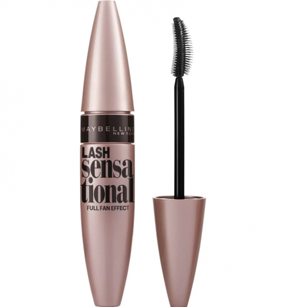 Mascara efect gene evantai Maybelline New York Lash Sensational, Black, 9.5 ml 1
