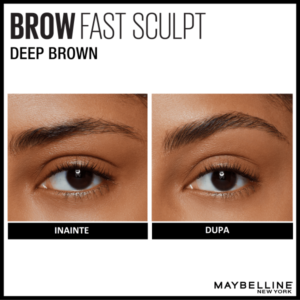 Mascara gel pentru sprancene  Brow Fast Sculpt 06, Deep Brown, 2.8ml [4]