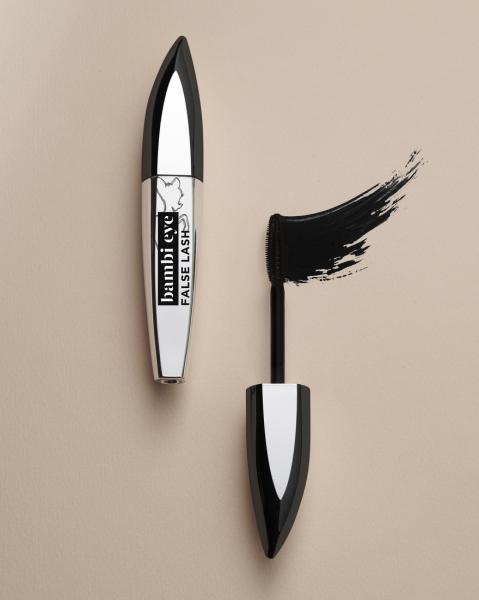 Mascara L`Oreal Paris Bambi cu efect de gene false, extra black 8,9ml 5