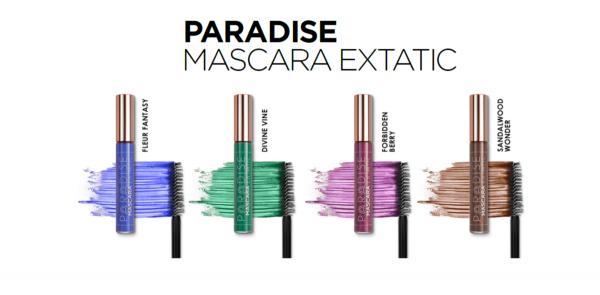 Mascara L`Oreal Paris Paradise Extatic, Green Divine Wine 3