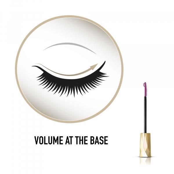 Mascara Max Factor Masterpiece Lash Crown, Volume & Definition, Black, 6.5 ml 4