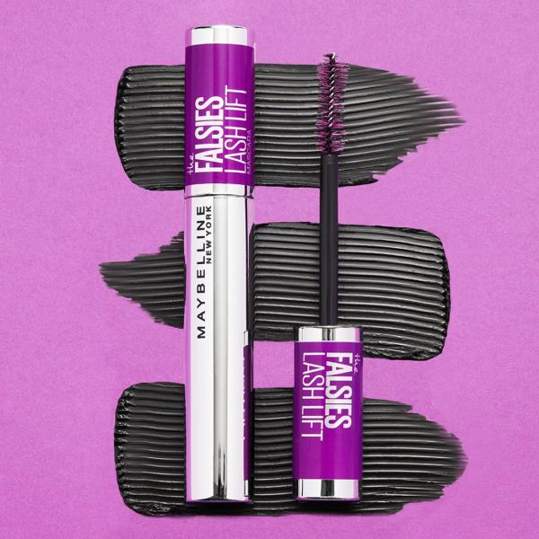 Mascara Maybelline Falsies Lash, pentru efect de gene false, black -9.6ml 7