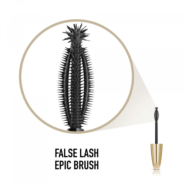 Mascara pentru volum Epic False Lash Effect, Negru, 13 ml [3]