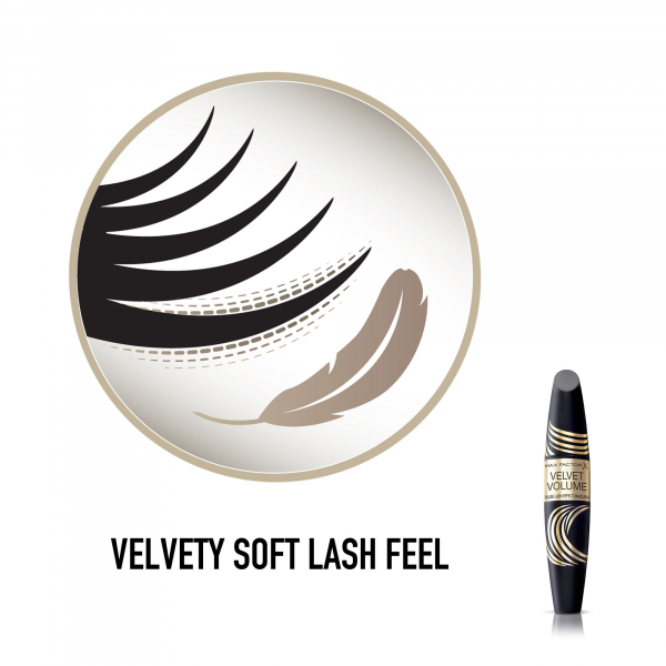 Mascara Velvet Volume, Negru, 13.1 ml 4