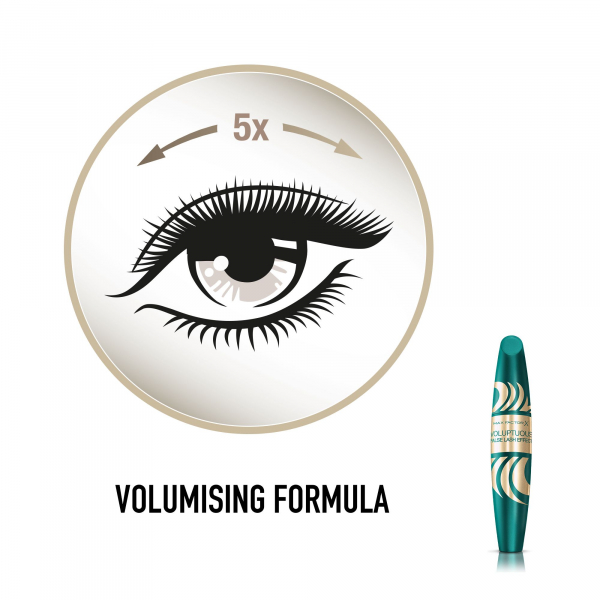 Mascara Voluptuous False Lash Effect Mascara Black, 13.1 ml 3