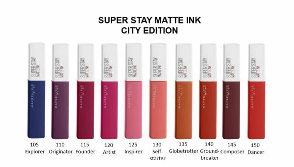 Ruj lichid mat Maybelline Superstay Matte Ink 5
