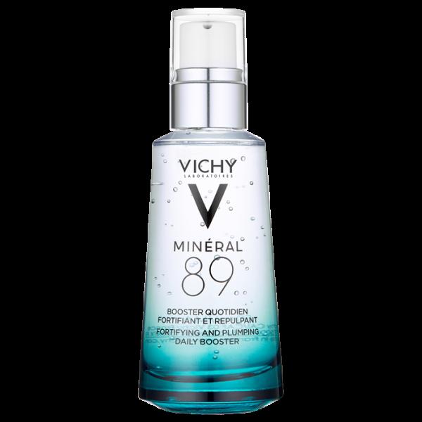 Gel-booster zilnic Vichy Mineral 89 cu efect de hidratare, fortifiere si reumplere, cu acid hialuronic, 15ml [0]
