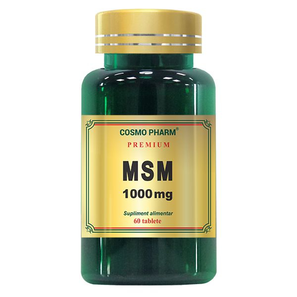 MSM 1000mg, Cosmo Pharm, 60 tablete 0
