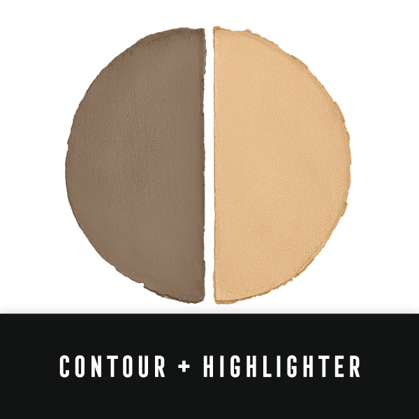 Paleta de conturare si iluminare Max Factor Miracle Contour Duo, Light/Medium, 11 g 3