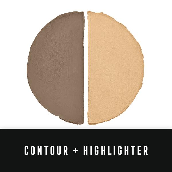 Paleta de conturare si iluminare Max Factor Miracle Contour Duo, Light/Medium, 11 g 3