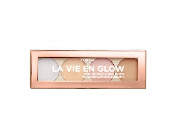 Paleta iluminatoare L`Oreal Paris La Vie En Glow 0