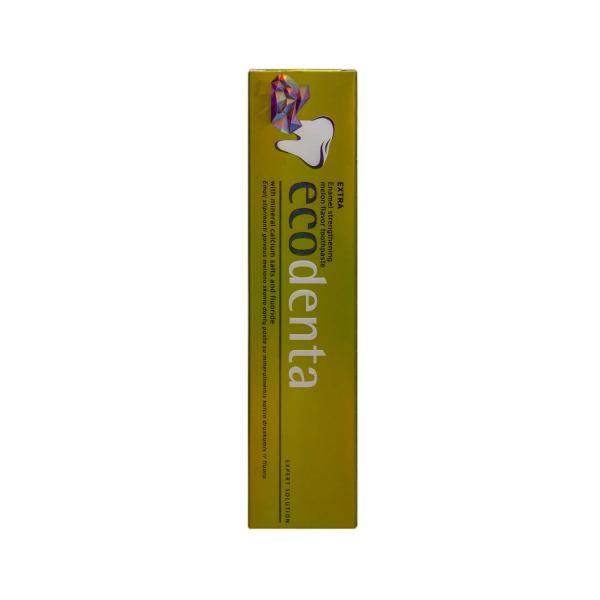 Pasta de dinti cu aroma de pepene pentru intarirea smaltului dintilor Extra Ecodenta 100ml [2]