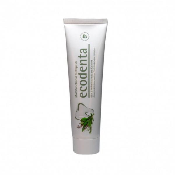 Pasta de dinti multifunctionala cu extract de 7 plante si Kalident Ecodenta 100ml 0