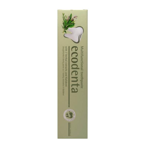 Pasta de dinti multifunctionala cu extract de 7 plante si Kalident Ecodenta 100ml 2