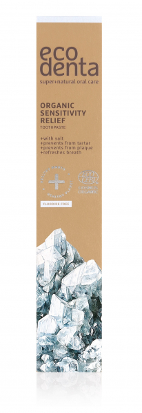 Pasta de dinti organica pentru dinti si gingii sensibile Cosmos Organic Ecodenta 75 ml [2]