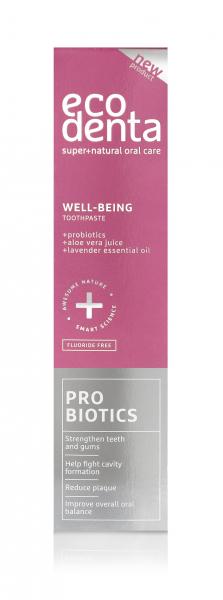 Pasta de dinti Well Being cu probiotice Ecodenta 100 ml 2