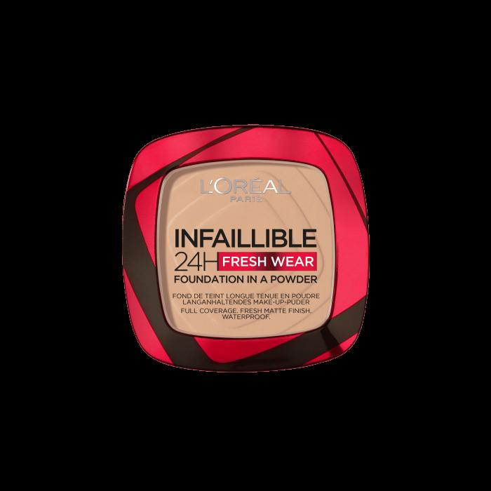 Pudra Compacta Infaillible 24H Fresh Wear Powder 130 True Beige [0]