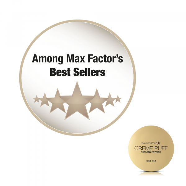 Pudra compacta Max Factor Creme Puff, 053 Tempting Touch, 21 g 5