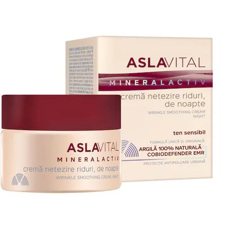 Crema netezire riduri Aslavital, de noapte, 50 ml [0]