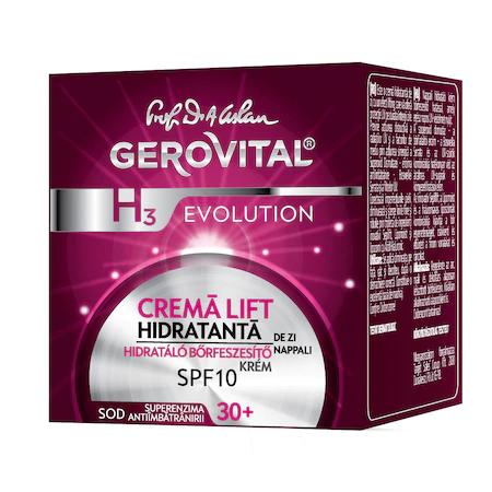 Crema lift hidratanta H3 Evolution, de zi cu SPF10, 50 ml [1]