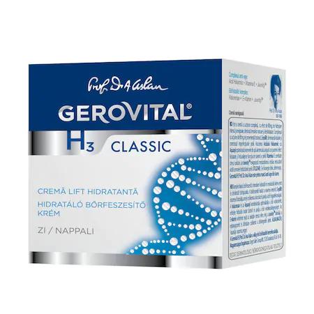 Crema Gerovital H3 Classic lift hidratanta de zi, 50 ml [0]