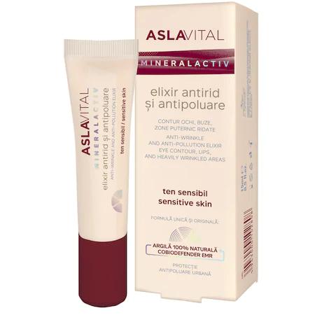 Elixir antirid si antipoluare Aslavital, 15 ml [0]