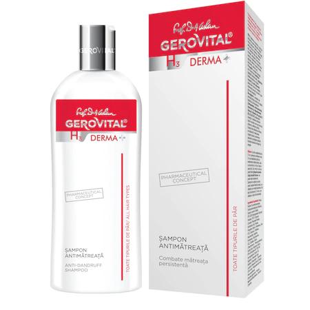 Sampon antimatreata Gerovital H3 Derma+, 200 ml 0