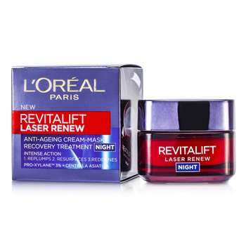 Revitalift Laser Renew, Femei, Masca de fata pentru noapte, 50 ml [0]