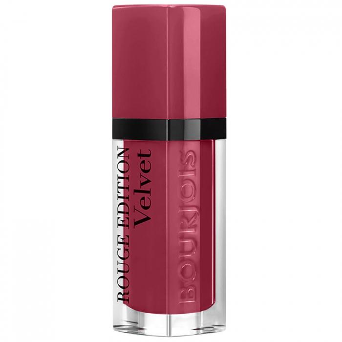 Ruj de buze cu efect matifiant Bourjois Rouge Edition Velvet No.08 Grand Cru, 7.7ml [0]