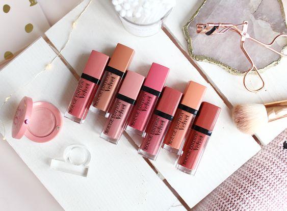 Ruj de buze cu efect matifiant Bourjois Rouge Edition Velvet No.09 Happy Nude Year, 7.7ml [5]