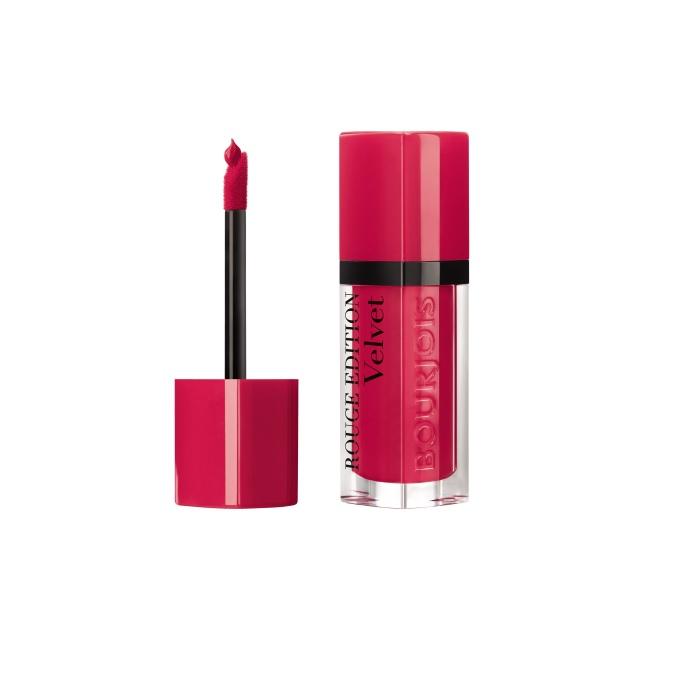 Ruj de buze cu efect matifiant Bourjois Rouge Edition Velvet No.13 Fun(n)chsia, 7.7ml [1]
