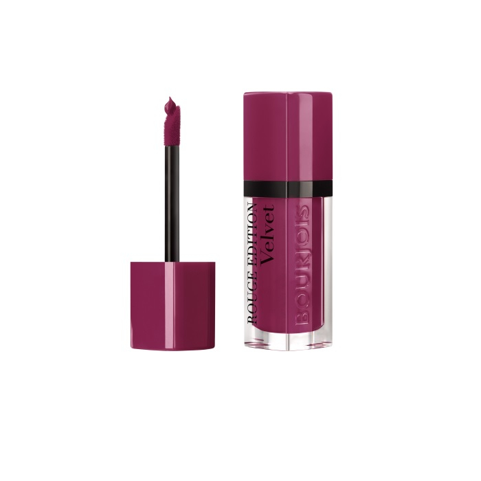 Ruj de buze cu efect matifiant Bourjois Rouge Edition Velvet No.14 Plum Plum Girl, 7.7ml [1]