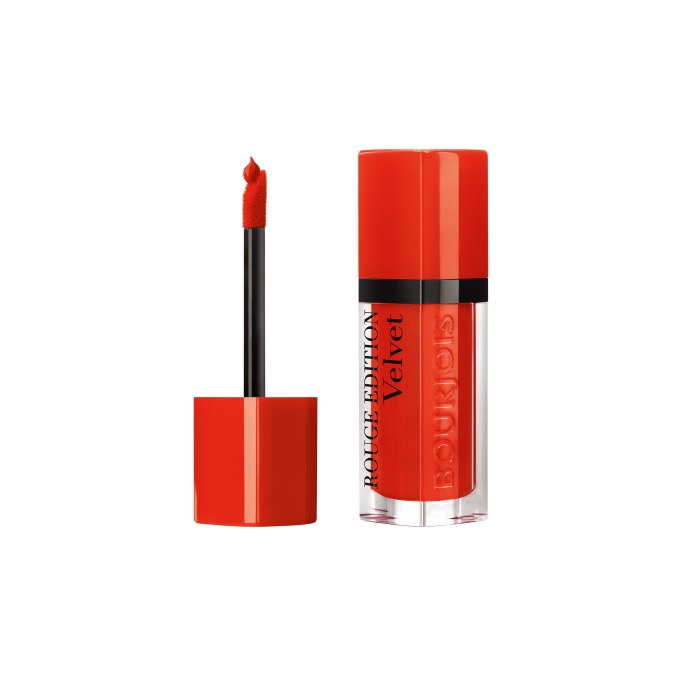 Ruj de buze cu efect matifiant Bourjois Rouge Edition Velvet No.20 Poppy Days, 7.7ml [1]