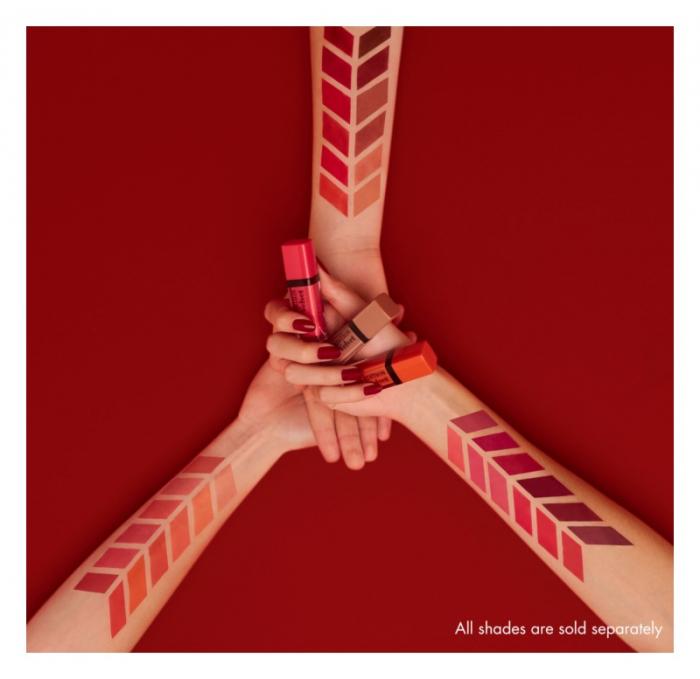 Ruj de buze cu efect matifiant Bourjois Rouge Edition Velvet No.20 Poppy Days, 7.7ml [4]