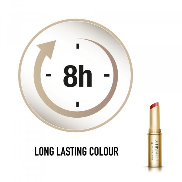 Ruj de buze hidratant Lipfinity Long Lasting, 40 Always Chic, 3.8 ml 4