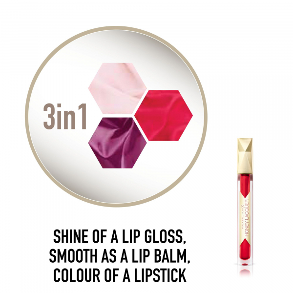 Ruj de buze Max Factor Colour Elixir Honey Lacquer, 25 Floral Ruby, 3.8 ml 4