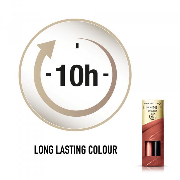 Ruj de buze rezistent la transfer Max Factor Lipfinity, 150 Bare 4