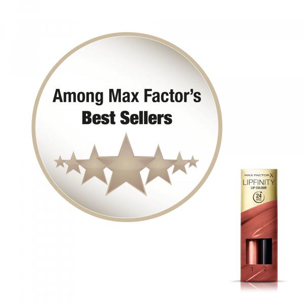 Ruj de buze rezistent la transfer Max Factor Lipfinity, 150 Bare [5]