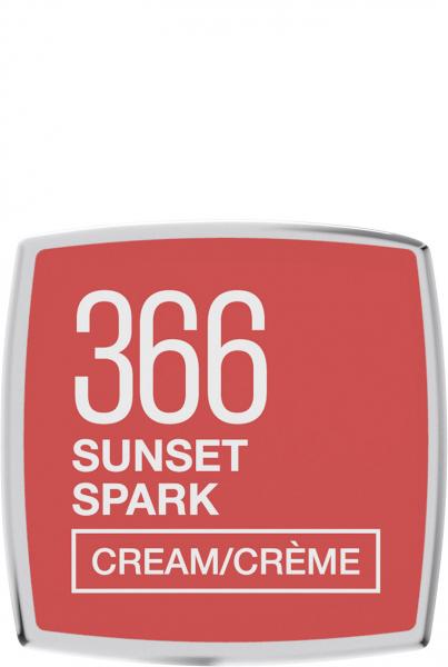 Ruj Satinat Maybelline Color Sensational, 366, Sunset Spark, 4.2g [5]