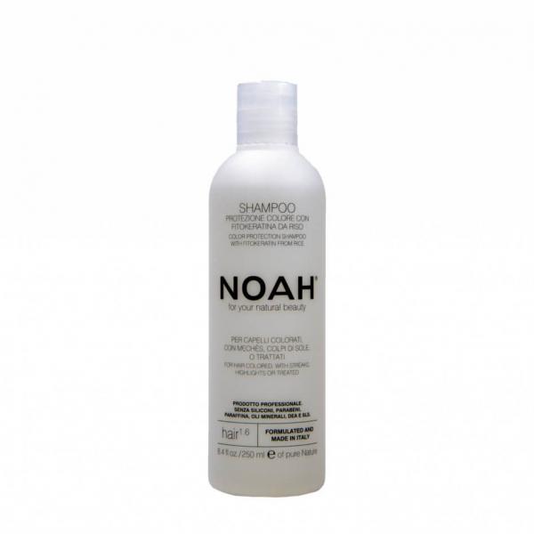 Sampon cu fitocheratina de orez pentru par vopsit (1.6) Noah 250 ml [0]