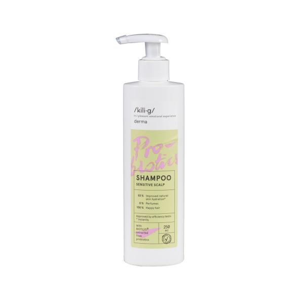Sampon cu probiotice pentru piele sensibila KILIG DERMA 250 ml [0]