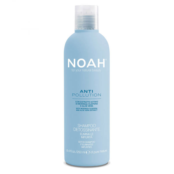 Sampon detoxifiant cu moringa si aloe vera Anti Pollution Noah 250 ml [0]