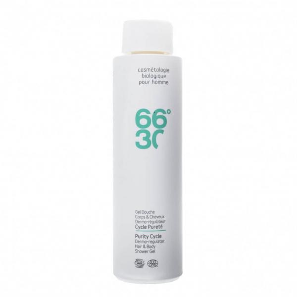 Sampon & gel de dus BIO, pentru barbati, 66°30 250 ml 0