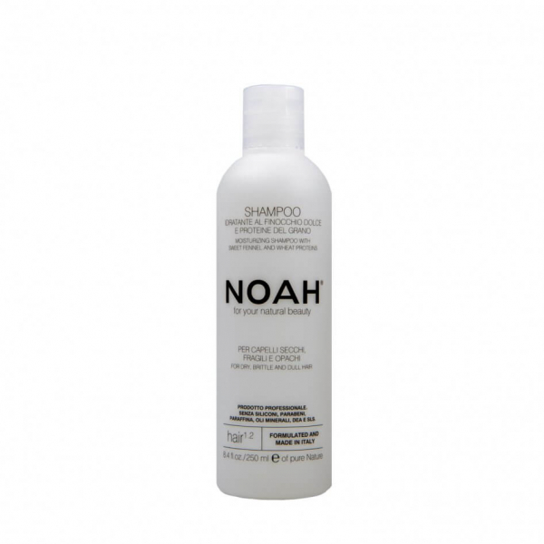 Sampon natural hidratant cu fenicul pentru par uscat fragil si lipsit de stralucire (1.2) Noah 250 ml 0