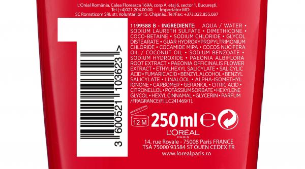 Sampon pentru par colorat, Elseve Color Vive, 700 ml [3]