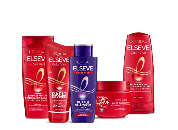 Sampon pentru par colorat Elseve Low Shampoo Color Vive, 400ml 3