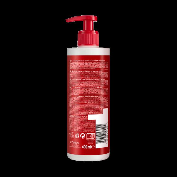 Sampon pentru par colorat Elseve Low Shampoo Color Vive, 400ml 2