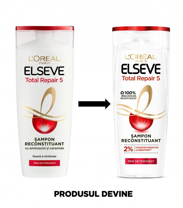 Sampon  pentru par deteriorat Elseve Total Repair 5 - 250 ml 3