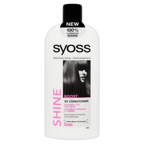 Balsam de par Syoss Shine-Boost pentru par fragil si lipsit de stralucire, 500 ml 0