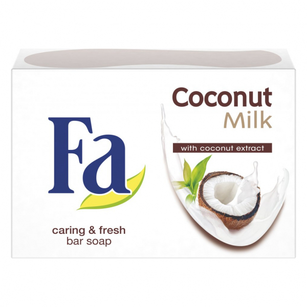 Sapun solid FA Coconut Milk, 90 gr 0